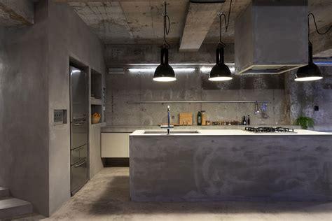 kitchen island counter dica piso de cimento queimado na decoração de cozinha no