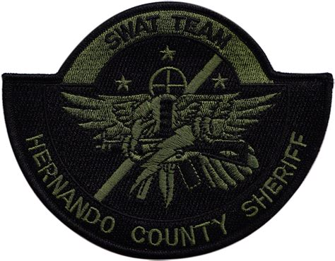 Military Swat Team Embroidered Patch