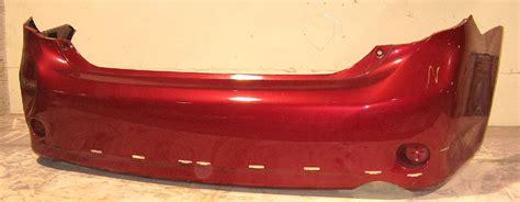 toyota corolla sxrs rear bumper cover bumper