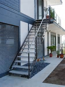 Outside Exterior Stairs