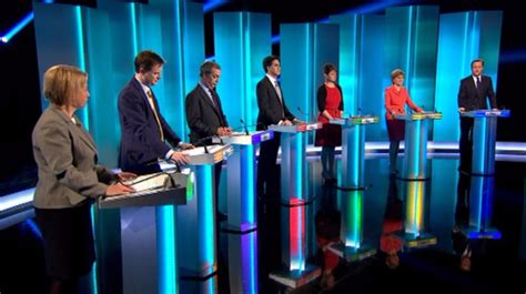 itv leaders debate watched   million people itv news