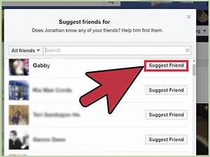 How To Suggest Friends On Facebook