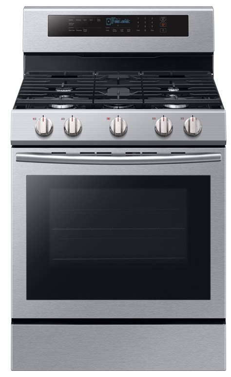 samsung nxmssaa  cu ft gas range  true