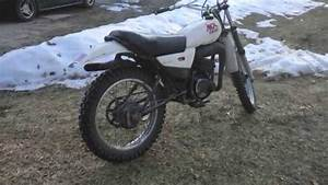 Yamaha 175 Mx Dirt Bike - Cold Start After Winter