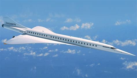 boom supersonic planes  launch test flight  year