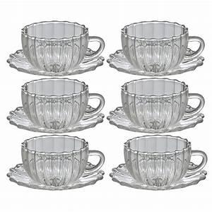 Verre à Café : comptoirs richard set tasses verre ~ Teatrodelosmanantiales.com Idées de Décoration