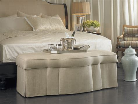 ottoman for foot of bed ottomans everywhere la maison interiors shows you how