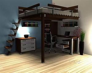 Hochbetten Für Erwachsene 200x200 : hochbett massiv hochebene hochbett bett kinder ~ Watch28wear.com Haus und Dekorationen