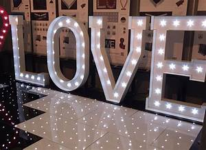 hire giant led love letters illuminated love letters With giant stand up letters