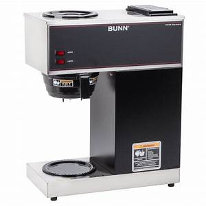 Bunn 33200 0000 Vpr 12 Cup Pourover Coffee Brewer With 2