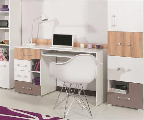 bureau pour deux enfants bureau ado en bois pas cher bureau avec support clavier