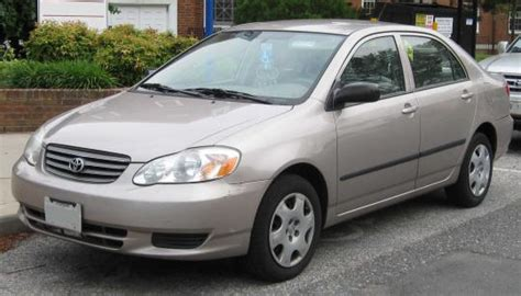 2008 Toyota Corolla Mpg by 2008 Toyota Corolla Ce Vin Number Search Autodetective