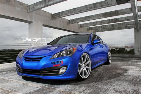 hyundai, Genesis, Coupe, Tuning, Velgen, Wheels, Cars ...
