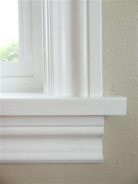 Window Ledge Trim by 1000 Ideas About Window Casing On Window