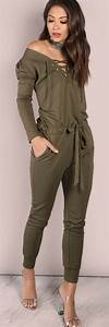 Trendy Girl Fashion Lace up Jumpsuit u2013 Designers Outfits Collection