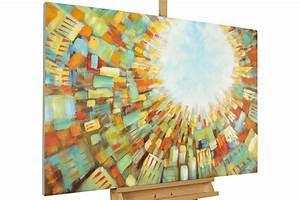 Bilder Acryl Modern : abstraktes skyline gem lde xxl kaufen kunstloft ~ Sanjose-hotels-ca.com Haus und Dekorationen