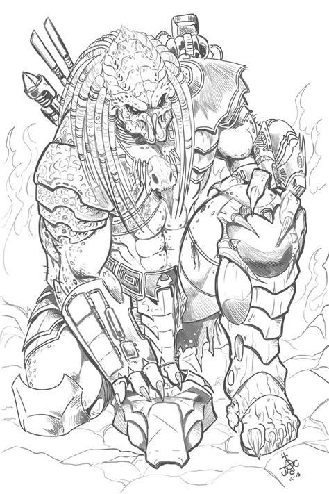 predator coloring pages    print