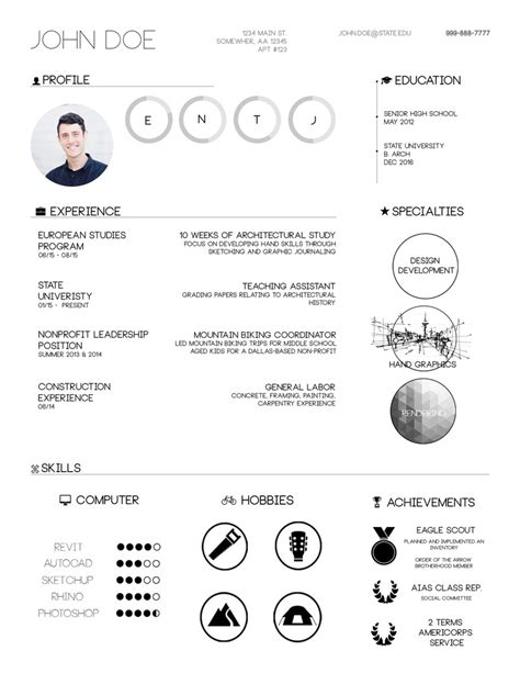 12652 creative resume templates for architects gallery of the top architecture r 233 sum 233 cv designs 1
