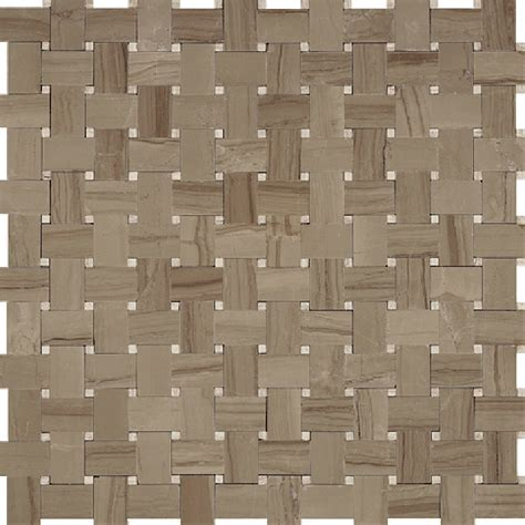 basketweave marble tile basketweave marble mosaic tile athens gray with wooden beige marble dot polished