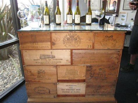 vintage wine tasting table    finest aged grand