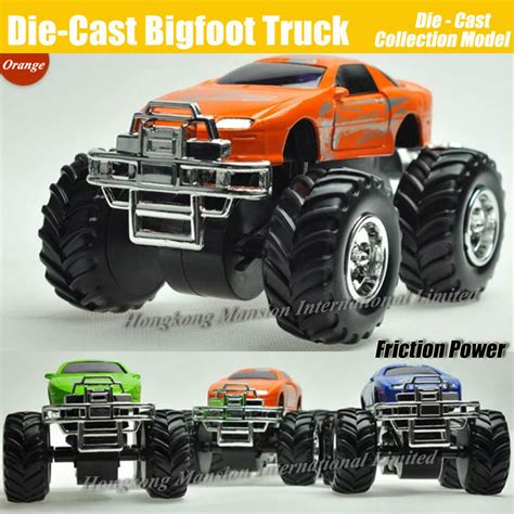 bigfoot 5 monster truck toy online cheap diecast alloy bigfoot car 1 32 scale