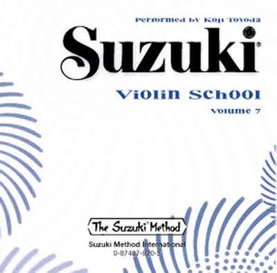 Suzuki Violin Cd by Suzuki Violin Toyoda Cd 7 Notpoolen