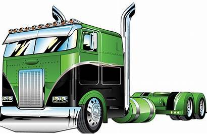 Peterbilt Trucks Truck Cab Silhouette Clipart Cabover