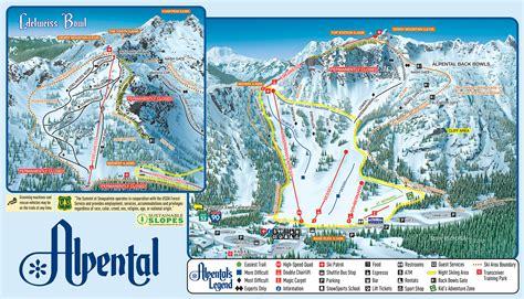 Alpental Trail Map