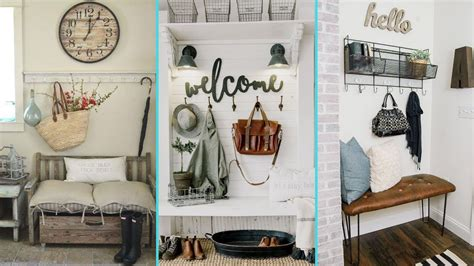 Shabby Chic Home Decor Ideas by Diy Rustic Shabby Chic Style Mudroom Decor Ideas Home