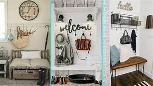Chic Home Living : diy rustic shabby chic style mudroom decor ideas home ~ Watch28wear.com Haus und Dekorationen