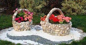 Decoration Jardin Pierre : d co jardin avec pierres et cailloux voici 20 id es inspirantes ~ Dode.kayakingforconservation.com Idées de Décoration