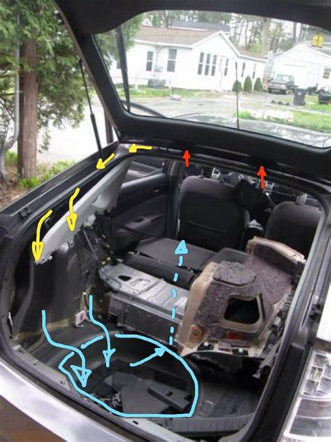 water leakinto spare tire area  page  priuschat
