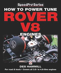 Power Tune Rover V8 Engines Book Manual Land Rover Mg