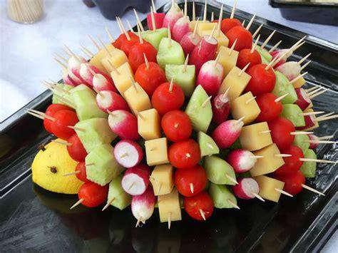 associer les couleurs dans une cuisine recettes de hérisson et apéritif