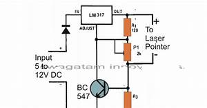 laser diode driver circuit current controlled circuit With laser diode circuit
