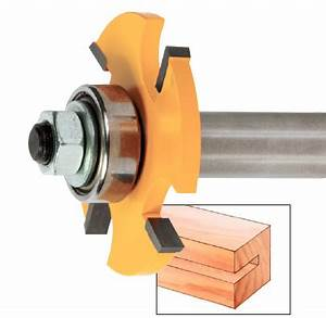 Must Have Router Bits: Slot-Cutting Bits Like Small Saw