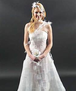 taking a green route with dresses made from recycling With reuse wedding dress