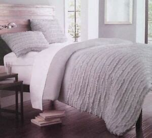 Cynthia Rowley Bedding Collection by New Cynthia Rowley Ruched Ruffled Comforter Shams Set