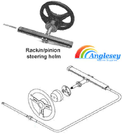 Boat Rack And Pinion Steering by Boat Steering Cables Boat Steering Wheels Boat Steering Kit