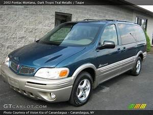 2002 Pontiac Montana In Dark Tropic Teal Metallic  Click