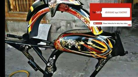 inspirasi tangki cb airbrush dan custom youtube