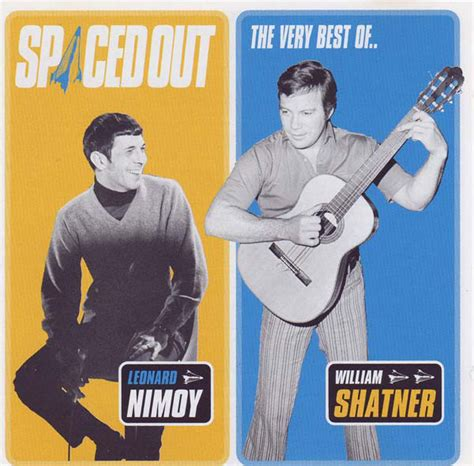 leonard nimoy discogs leonard nimoy william shatner spaced out cd at discogs