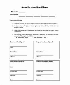 Free 8  Sample Sign Off Form Templates In Pdf