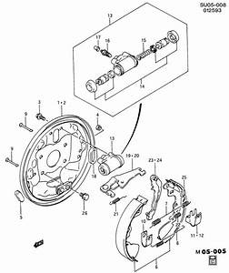 Geo Metro Shoe Kit  Brake  Shoe Kit  Rr Brk  Shoes