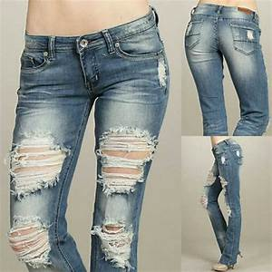 Machine Jeans Jeans | Nwot Destroyed Bootcut | Poshmark