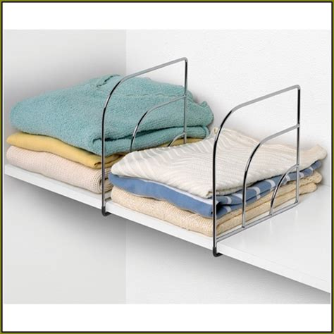 closet shelf organizer shelf dividers home design ideas