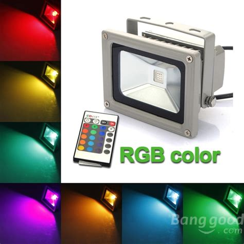led lights lighting utilizing rgb color changing