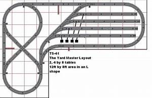 L Shaped Layout With Lionel Fastrack