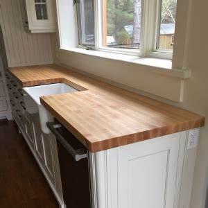 meubles en bois massif signature stephane dion With fabriquer un comptoir de cuisine en bois