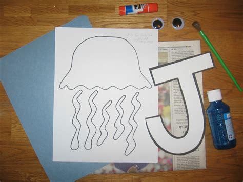 letter j crafts preschool and kindergarten 371 | letter j craft templates